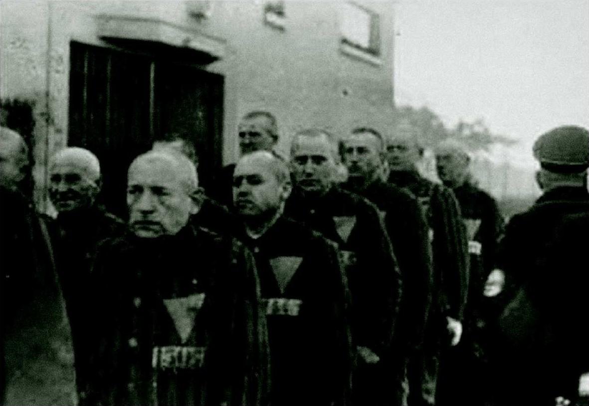 Triangoli rosa a Sachsenhausen